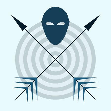 targeted: head arrow aim icon