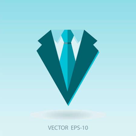 investor: Concept of profession suit. investor, businessman. Vector illustration Illustration