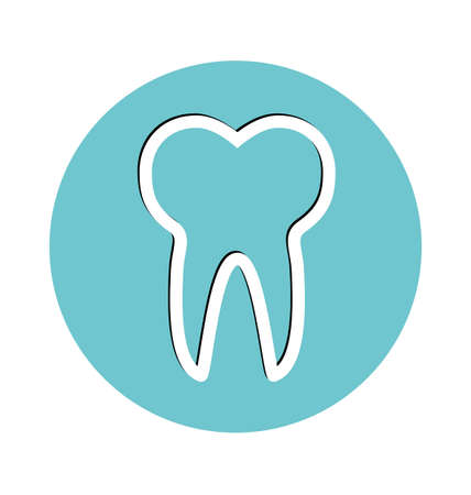 toothcare: Tooth Icon, pictogram icon