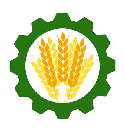 agriculture icon: Industrial and agricultural icon