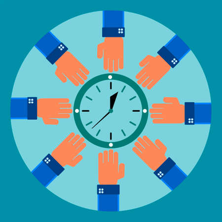 constraints: Eight arms to reach for the clock. Savings, time constraints, work schedule