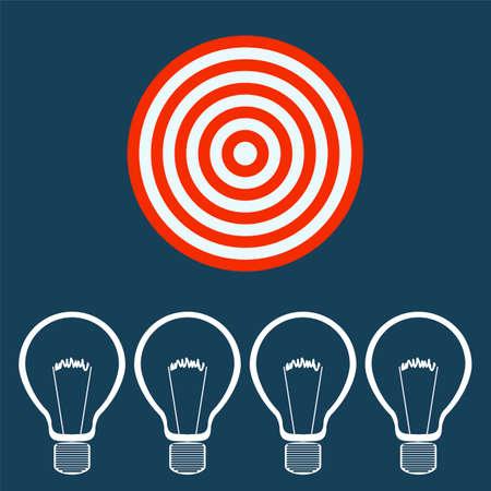 eficiencia energetica: filamento de la bombilla. La industria de la energía, la conservación de recursos, el consumo de energía, la fábrica de ideas. Para el propósito de la empresa