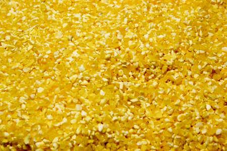 grits: Corn grits