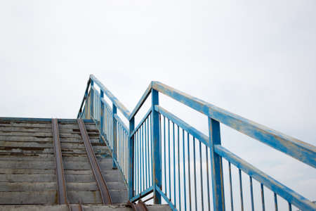 metallic stairs: The iron stairway to heaven