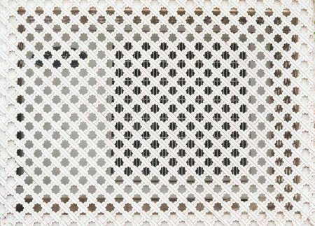 lattice window: Lattice window. Natural light Stock Photo