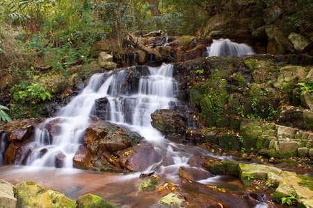 cascading: Cascading waterfall Stock Photo