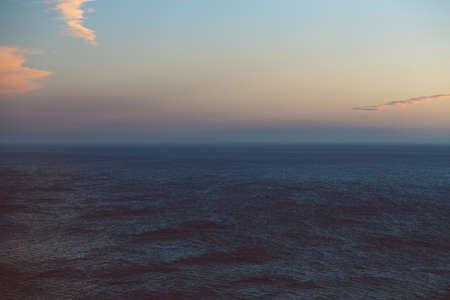 The infinite horizon over the ocean