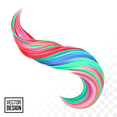 Abstract vector digital color paint background. Creative vivid 3d flow fluid paint wave. Trendy pink green liquid banner template with bright gradient paint isolated on white transparent background.