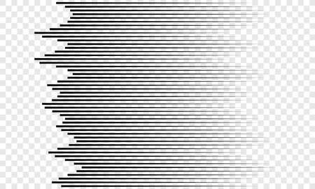 Horizontal lines pattern background vector speed motion stripes concept