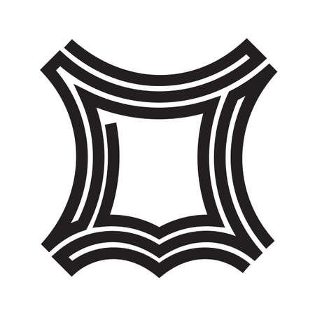 Leder Logo Symbol Vorlage