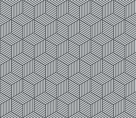 Seamless pattern background. Vector abstract geometric line, modern trend pattern background Illustration