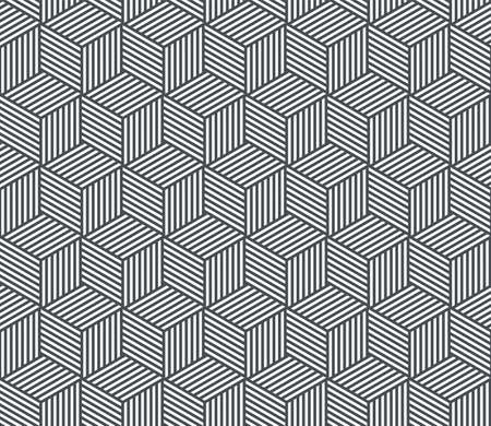 Abstract geometric seamless pattern background. Vector polygon line grid texture pattern background Illustration