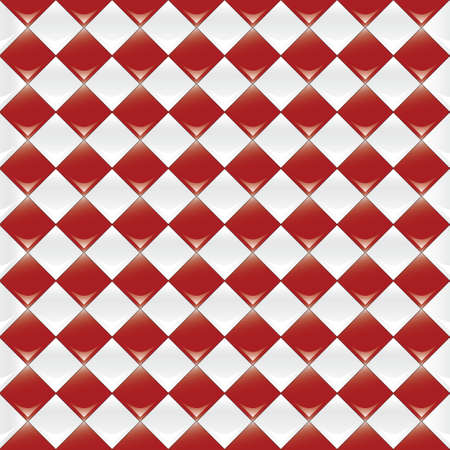 A seamlessly repeatable glossy checkered pattern