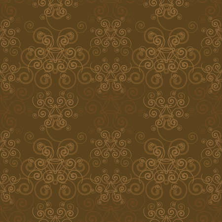 An elegant abstract sepia background. Seamlessly repeatable. Vectores