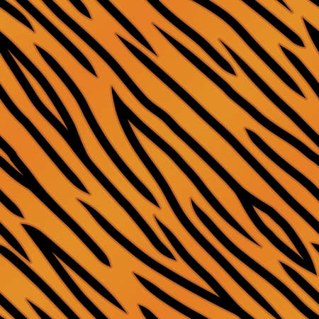 poaching: An orange and black tiger striped background. Seamlessly repeatable.