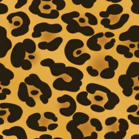発見シームレスに繰り返し背景黄色と黒のジャガー