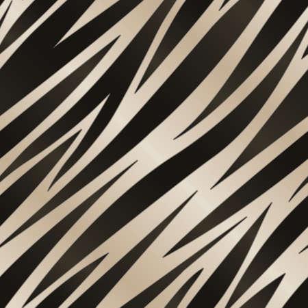 シームレスに反復可能な黒と白のゼブラ ストライプ背景  イラスト・ベクター素材