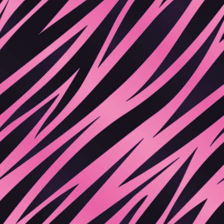 stripe: Pink Zebra Stripe Background Illustration
