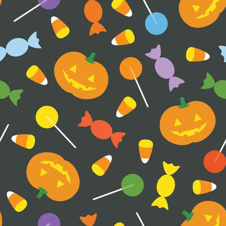 A cute retro Halloween Stock Vector - 23299061