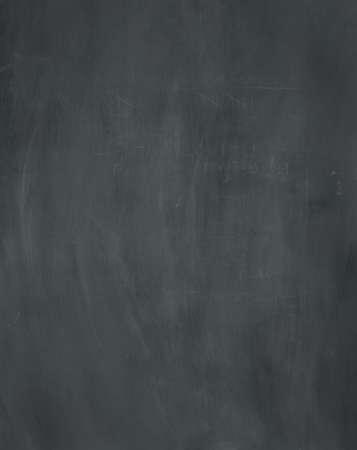 A blank used chalkboard texture  Foto de archivo