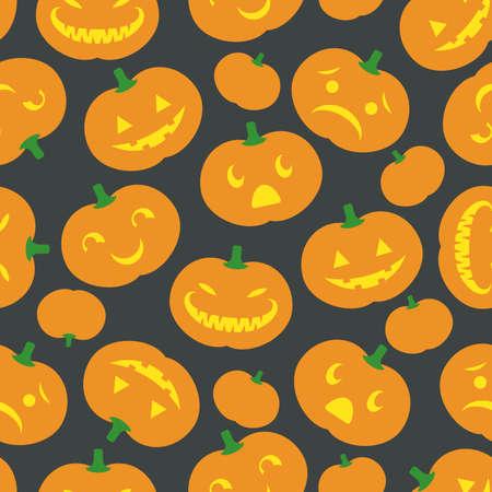 A cute retro Halloween Seamlessly repeatable  Stock Vector - 23301670