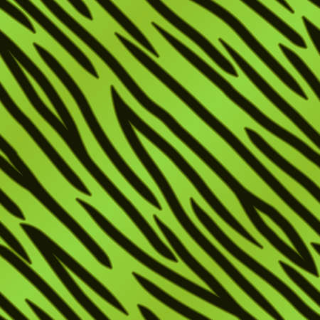 pelt: A green tiger striped background  Seamlessly repeatable