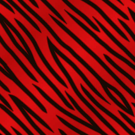 animal print background: A red tiger striped background  Seamlessly repeatable