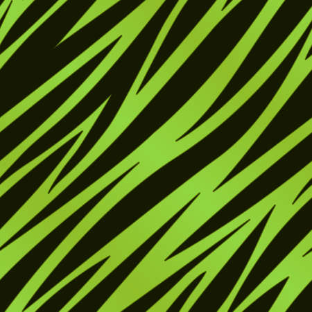 fur coat: A green zebra striped background  Seamlessly repeatable