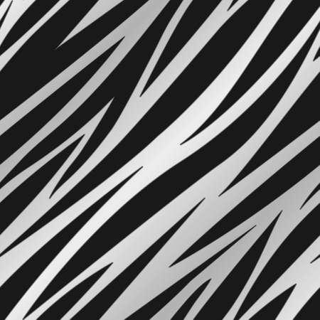 A silver zebra striped background  Seamlessly repeatable