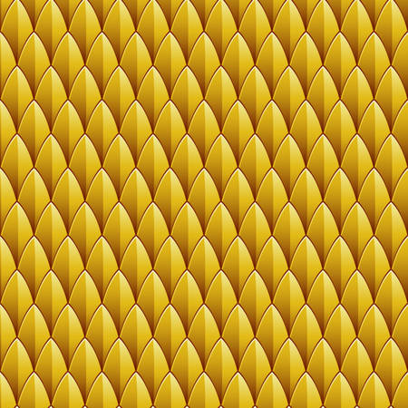 A yellow reptile skin textured background  Seamlessly Repeatable  Vector