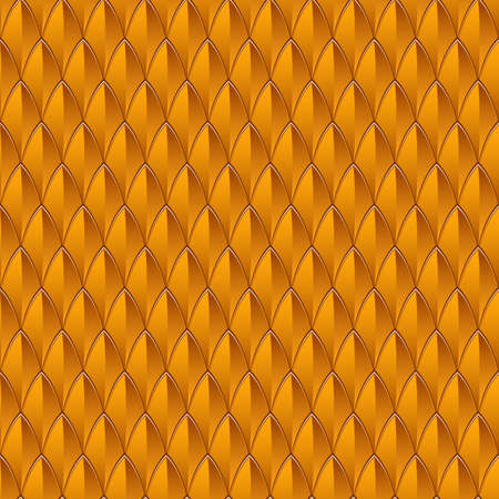 An orange reptile skin textured background  Seamlessly Repeatable  Vector