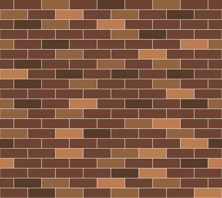 A simple brown brick wall pattern  Seamlessly repeatable