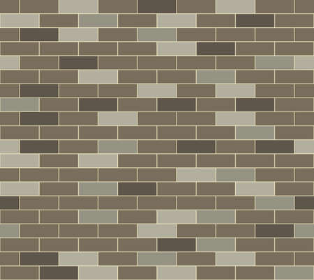 A simple grey brick wall pattern  Seamlessly repeatable