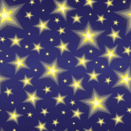 An abstract starry sky texture. Seamlessly repeatable. Vectores