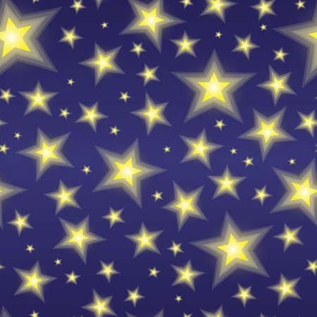 repeatable texture: Un cielo estrellado textura abstracta. Incons�til repetible. Vectores