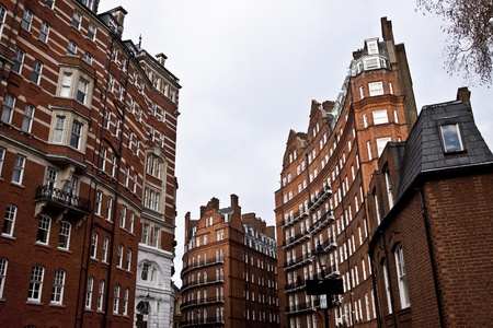 Victorian buildings in London photo