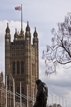 Big Ben and Westminster Palace in London Stock Photo - 10686482