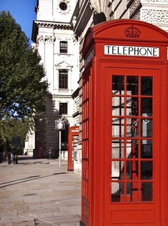 antique booth: Red telephones near Big Ben