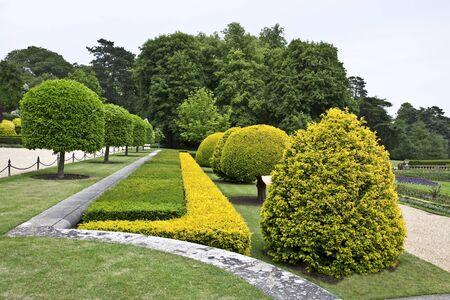 Waddesdon Manor. Park Stock Photo - 10686526