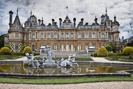 aristocracy: Waddesdon Manor. Palace