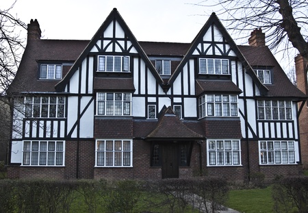 Tudor House in England photo