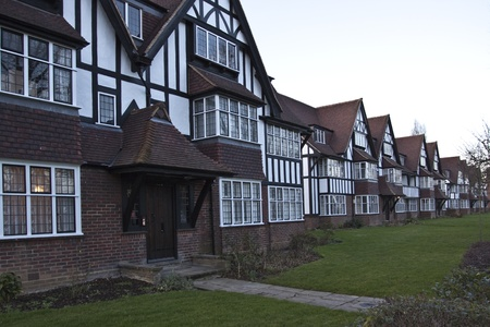 Tudor Houses in England photo