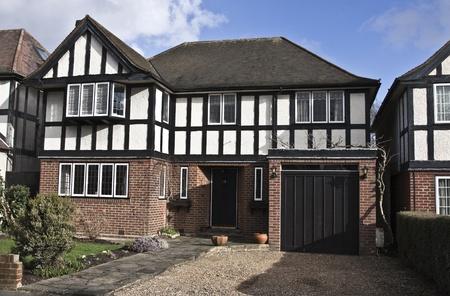 Tudor House in England photo