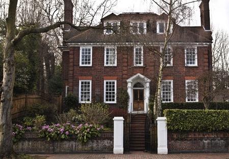 Georgian house in England Stock Photo - 10686784
