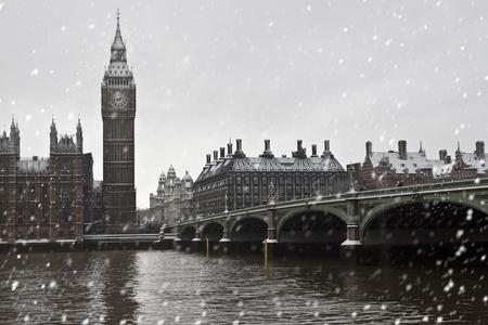 london big ben: Зима в Лондоне. Биг Бен и Вестминстерский дворец