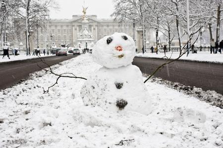 Winter  in London.  photo