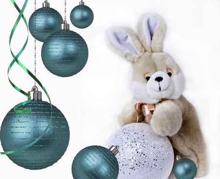 Christmas balls. Gifts. Christmas tree Stock Photo - 11739035