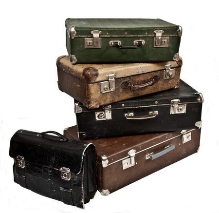 of yesteryear: Antique treasure chests Stock Photo