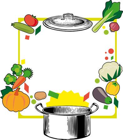ink pot: Negro y con bote rojo Burdeos blanco verduras