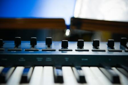 midi: Midi keyboard with faders